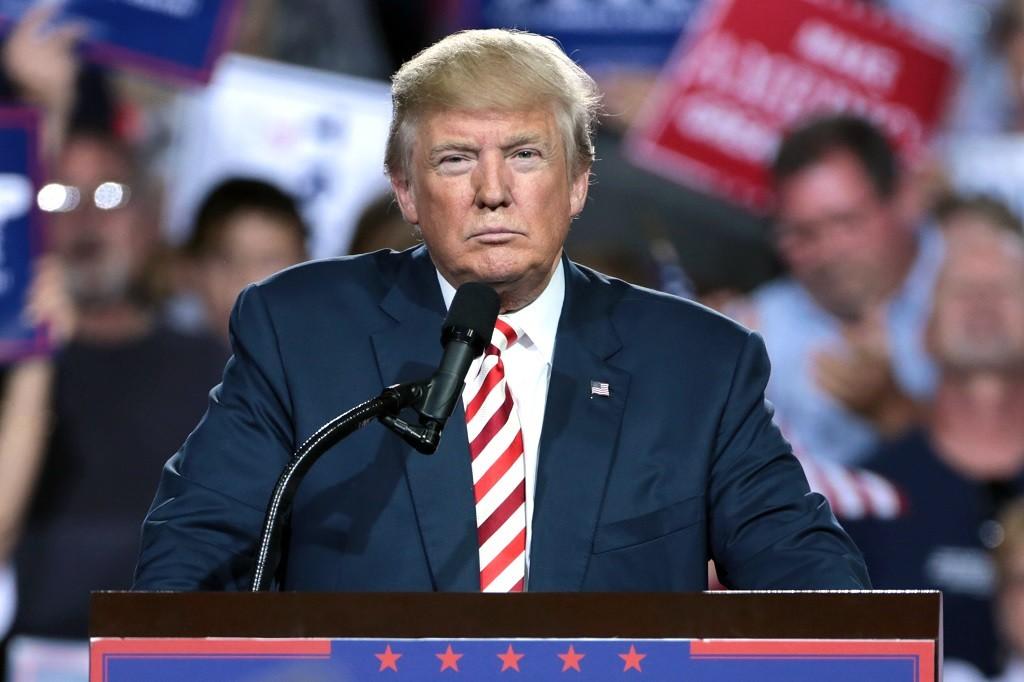 Donald Trump dikabarkan akan menggunakan perusahaan analisa data lain untuk kampanye 2020. (Wikimedia Commons)