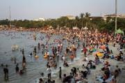 Pantai Ancol Tingkatkan Pengamanan