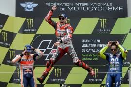 Jorge Lorenzo Juara MotoGP Catalunya