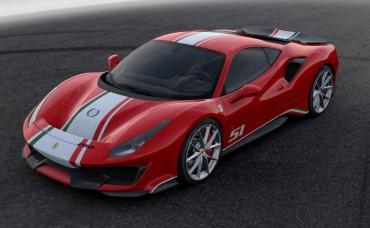 Ferrari 488 Pista Edisi Khusus Le Mans