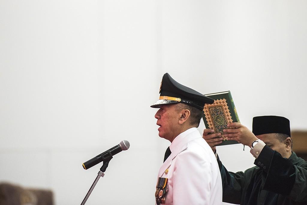 M Iriawan Resmi Dilantik sebagai Penjabat Gubernur Jawa Barat