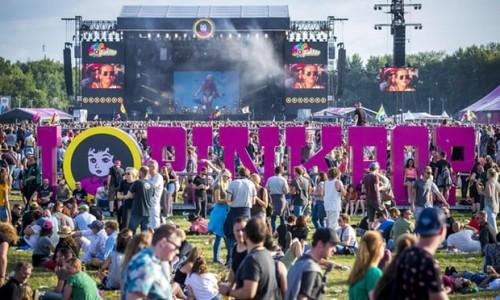 Konser Pink Pop di Limburg, Belanda. (Foto: AFP)