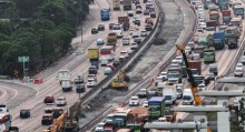 <i>Contra Flow</i> Diberlakukan di Tol Cikampek Arah Jakarta
