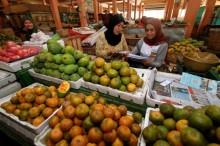 Pasar Tradisional di Ambon Mulai Ramai