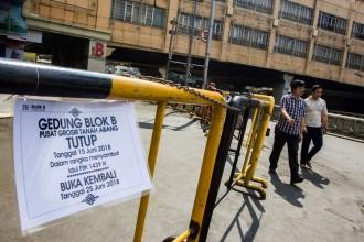 Pusat Ekonomi Jakarta masih Sepi Pengunjung