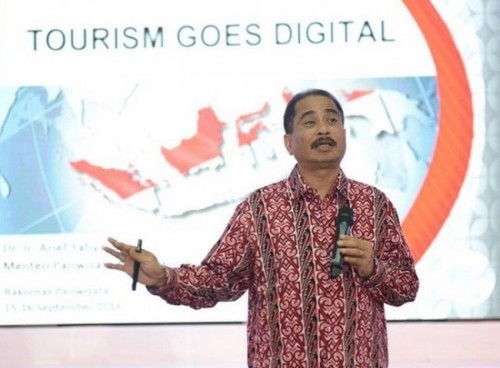 Menteri Pariwisata Arief Yahya (Instagram @kemenpar).