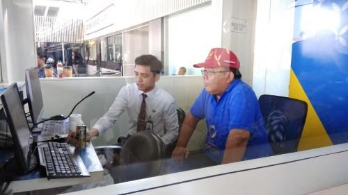 Komisioner Ombudsman RI Adrianus Meliala mengecek posko terpadu