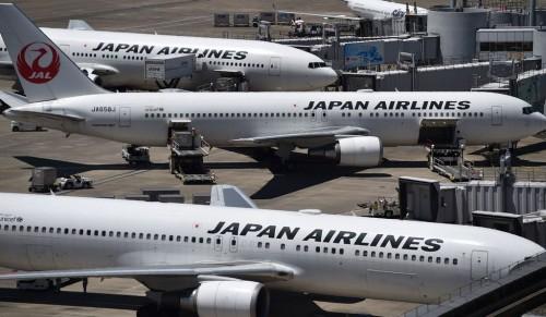Ilustrasi Japan Airlines. (Foto: AFP).