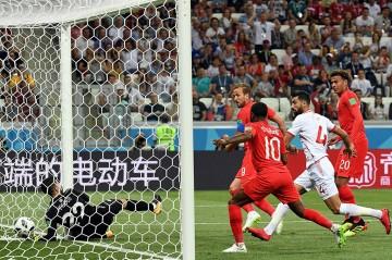 Dua Gol Harry Kane Antar Kemenangan Inggris atas Tunisia