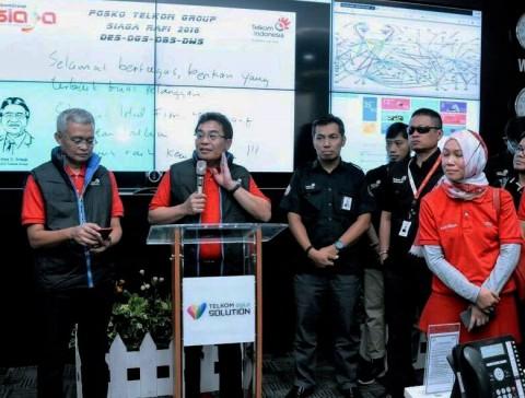 Pastikan Layanan Prima, Posko TelkomGroup Siagakan 18.393 Personel