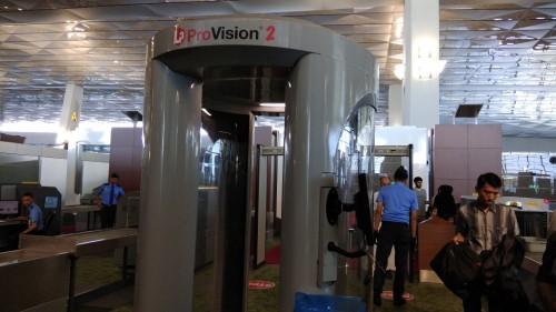 Body scanner di Terminal III Soetta - Medcom.id/Fachri Audhia