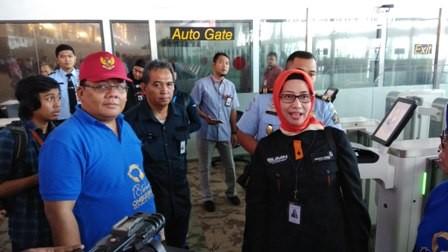 Sidak Ombudsman RI di Bandar Udara Internasional