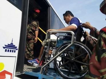 Pemudik Disabilitas Pulang ke Jakarta dengan Mobil Akses