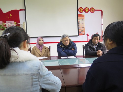 Proses wawancara calon peserta Darmasiswa, peserta yang lolos