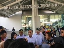 Menhub Jajal Kereta Bandara dari Bekasi