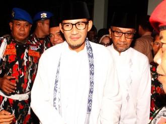 Sandiaga tak Ingin Berpolemik soal Titipan Pesan SBY