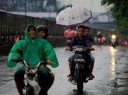 Jakarta Berpotensi Hujan di Siang Hari