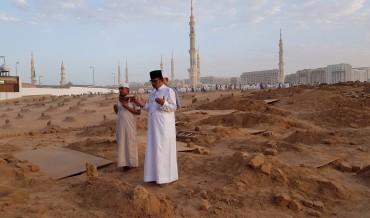 Tiga Jenazah WNI Korban Kecelakaan Disalatkan di Masjid Nabawi