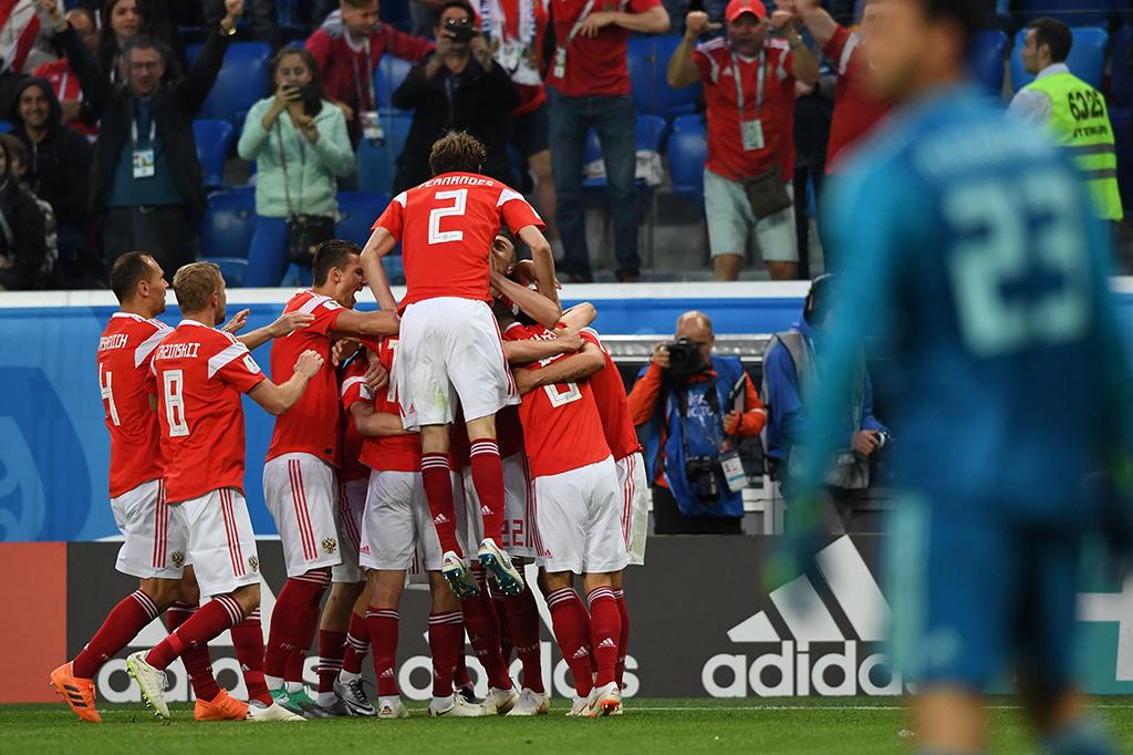 Bungkam Mesir 3-1, Rusia Tim Pertama yang Lolos 16 Besar