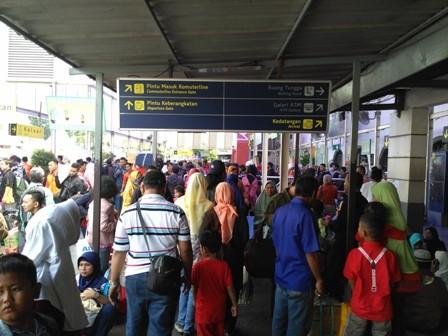 Stasiun Pasar Senen/Medcom.id/Nur Azizah