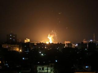 Israel Gempur 25 Target di Jalur Gaza