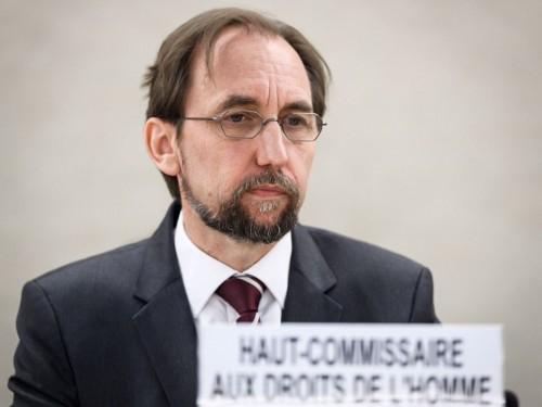 Komisioner Dewan HAM PBB Zeid Ra'ad Al Hussein. (Foto: AFP).