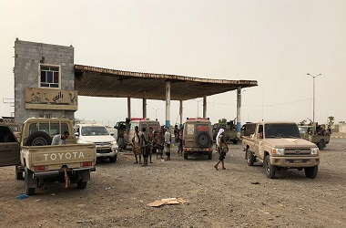 Pasukan pro pemerintah Yaman berkumpul di area bandara Hudaida,