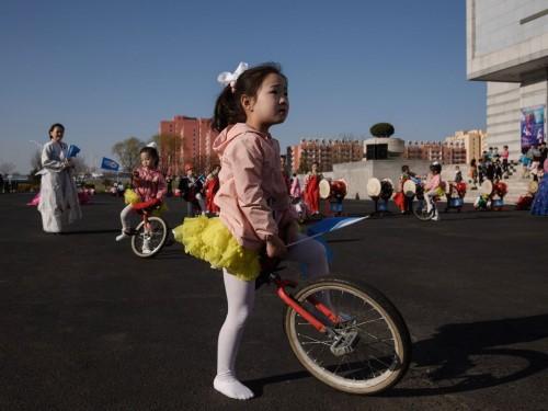 Anak-anak Korea Utara. (Foto: AFP).