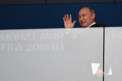 Apresiasi Vladimir Putin Usai Rusia Cetak Sejarah di Piala Dunia