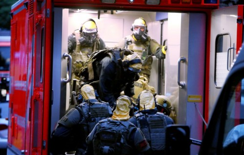 German police say they foiled a biological attack with a deadly