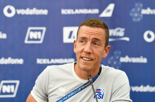 Iceland goalkeeper Hannes Halldorsson combines national duty