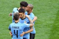 Uruguay 1-0 Arab Saudi: Luis Suarez Pembeda