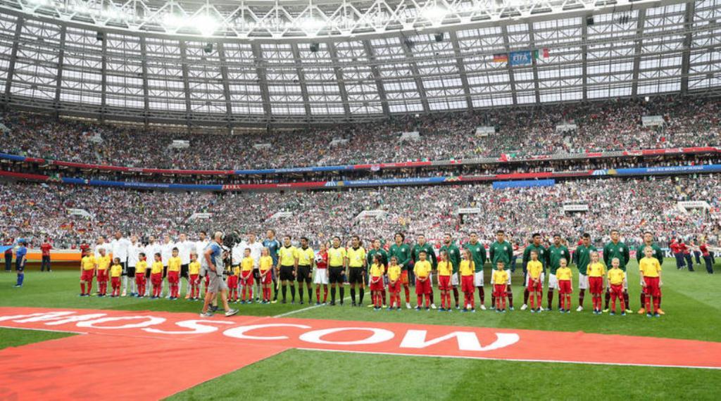 Laga Jerman vs Meksiko (Foto: AFP)