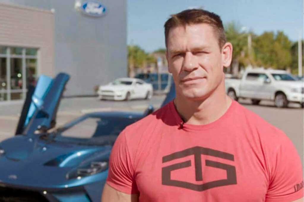 John Cena dituntut Ford karena melanggar kontrak. Carscoops