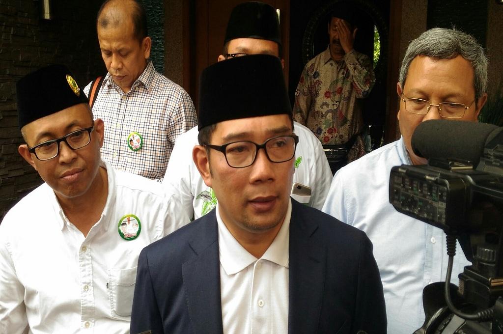 Cagub nomor urut 1 Ridwan Kamil, Medcom.id - Roni Kurniawan