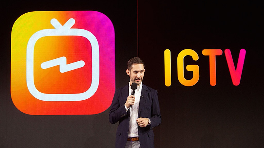 Founder & CEO Instagram Kevin Systrom.