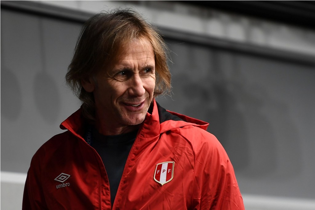 Ricardo Gareca (AFP PHOTO/ ANNE-CHRISTINE POUJOULAT )
