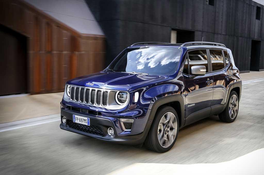 Jeep Renegade 2019, malah nongol di Eropa. Carscoops