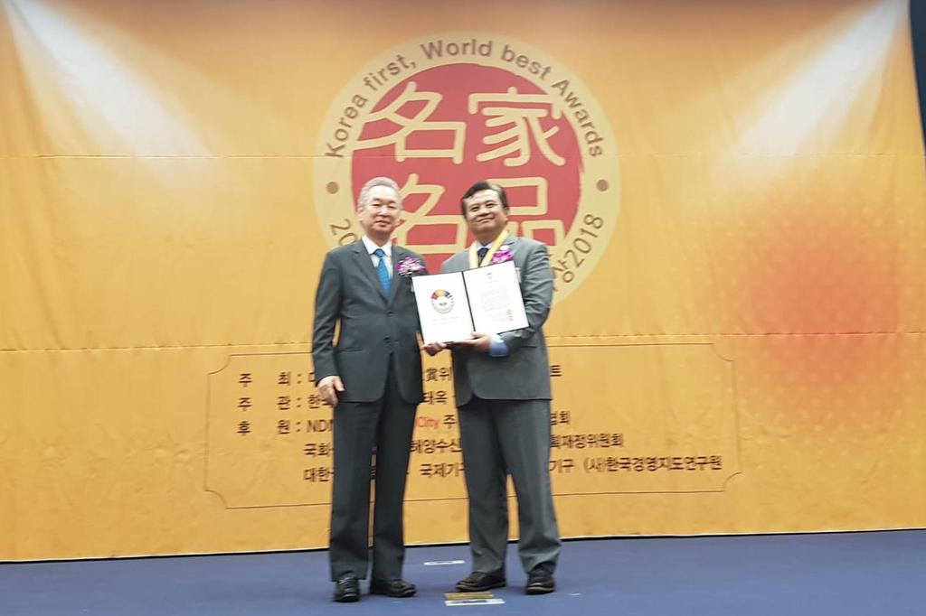 Dubes RI Seoul Raih Penghargaan Duta Besar Terbaik 2018