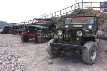 Modifikasi Jeep Lava Tour, Tak Penuhi Standar Keselamatan?