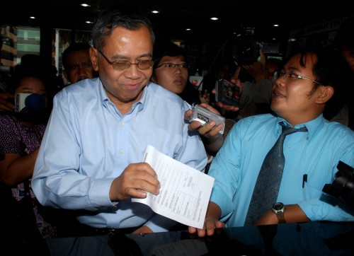 Mantan Direktur Pengawasan Bank BI, Iwan Ridwan Prawiranata - ANT/Andika Wahyu.