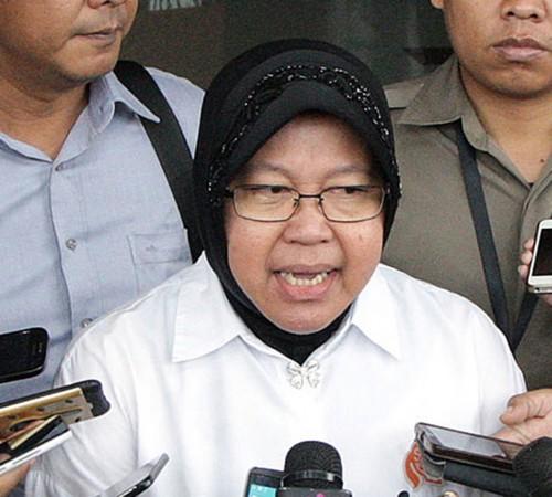 Wali Kota Surabaya, Tri Rismaharini, MI/Susanto.