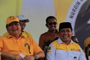 Ketum Golkar Titip Empat Program Pro Rakyat ke NH-Aziz