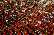 Reuni Empat Rektor di Halalbihalal Unhas