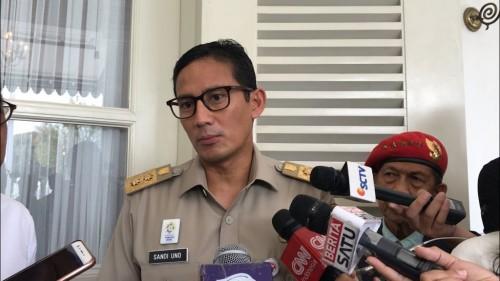 Wakil Gubernur DKI Jakarta Sandiaga Uno. Medcom.id/ M Sholahadhin Azhar
