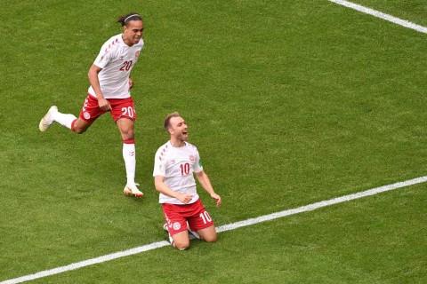 Bintang Laga: Eriksen, Nyawa Denmark