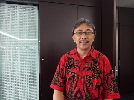Koordinator Komite Pemilih Indonesia (Tepi) Jeirry Surampow. Medcom.id/Siti Yona Hukmana