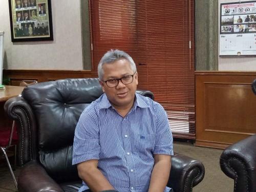 Ketua Komisi Pemilihan Umum (KPU) Arief Budiman - Medcom.id/Siti Yona Hukmana