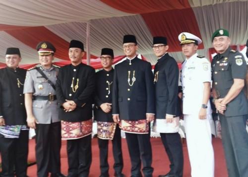 Gubernur DKI Jakarta Anies Baswedan (tengah)--Medcom.id/Ilham Wibowo.