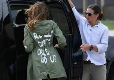 Kontroversi Jaket Ibu Negara AS saat Kunjungi Detensi Imigrasi